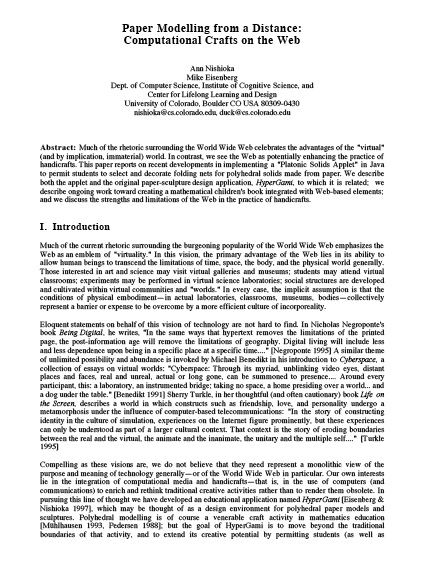 Fake technical research paper